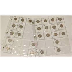 2x Sheets of 24x USA Statehood Quarters 25 Cent Coins 1965-2007
