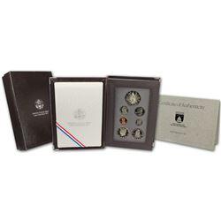 1989-S U.S.Mint Prestige Congressional Silver-Dollar Proof Coins Set