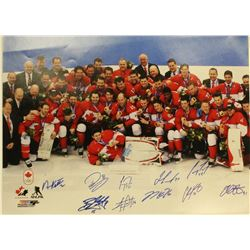 Hockey Gold 10x Autographs Toews Subban Keith Price Perry Mens Team Canada Olympics 2014
