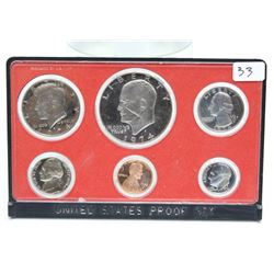 1974 United States Proof Coin set San Francisco Mint
