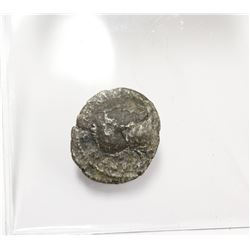 Ancient Silver Roman Coin Features Emperor & Athena with Sword nearly 2000 Years old