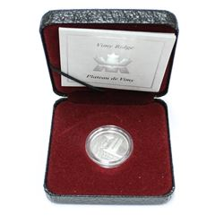 2002 Canada Proof Silver 5 Cent Coin Vimy Ridge