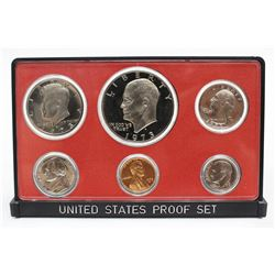 1973-S United States Proof Set San Francisco 6x coins