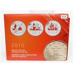 2010 Canada Special Edition Colourized Uncirculated Coin Set