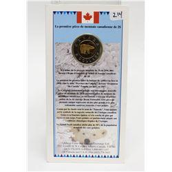 1996 Canada $2 Coin The First Polar Bear Toonie