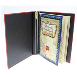 Legends of Folklore Canada Collectors Album with 50 Cent Silver Coin & Book Four