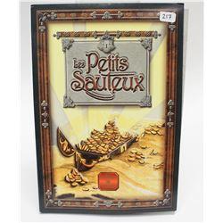 Legends of Folklore Canada Collectors Book Six Les Petits Sauteux & 50 Cent Silver Coin