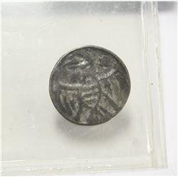 Rare Ancient Coin Silver Brabant 12th Century Eagle & Iron Cross VF