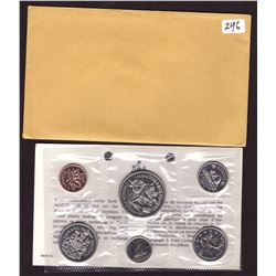 1970 Canada Prooflike Coins Set with Envelope