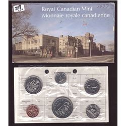 1977 Canada Prooflike Coins Set with Envelope