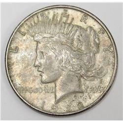 1922 USA Silver Peace Dollar Coin 90% pure