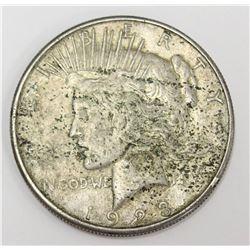 1923 USA Silver Peace Dollar Coin 90% pure