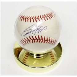 Bo Jackson Signed Autographed Baseball in Display Stand Chicago White Sox MLB