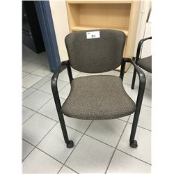 GREY HEYWORTH MOBILE CLIENT CHAIR