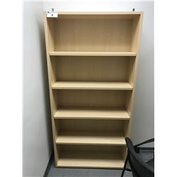 MAPLE 6' BOOKCASE