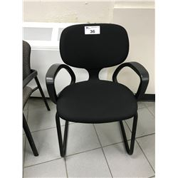 BLACK DHARMA CLIENT CHAIR