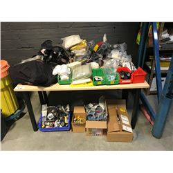 ASSORTED RESPIRATORS & SAFETY PRODUCT