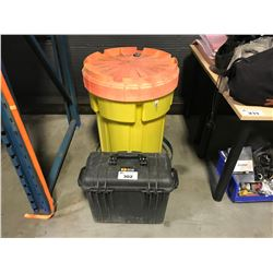BARREL OF SPILL CLEAN UP KIT & 1440 PELICAN CASE
