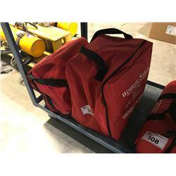 2 WESTERN SAFETY EMERGENCY BLANKETS