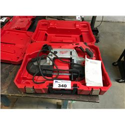 MILWAUKEE ELECTRIC DEEP CUT PORTABLE BAND SAW IN CASE