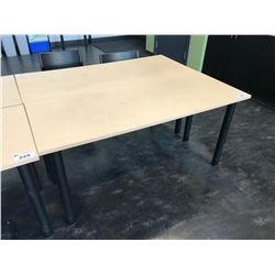 MAPLE 5' X 2' OFFICE TABLE