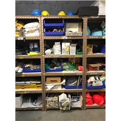 SHELF OF ASSORTED SAFETY PRODUCT