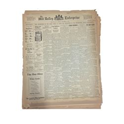 Scary Stories Newspaper Movie Props