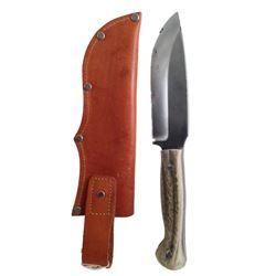 Django Unchained Django's (Jamie Foxx) Hero Aussie Knife & Sheath Movie Props