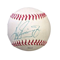 Official League Baseball signed by Ken Griffey Jr.