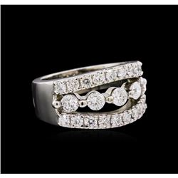 1.84 ctw Diamond Ring - 14KT White Gold