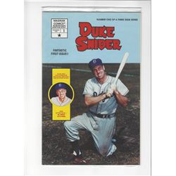 Duke Snider Issue #1 by Magnum Comics