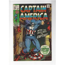 Captain America Issue #125 by Marvel Comics