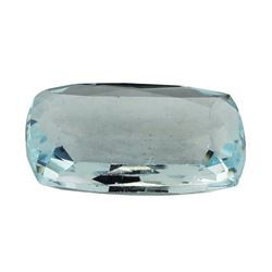 9.94 ct.Natural Cushion Cut Aquamarine