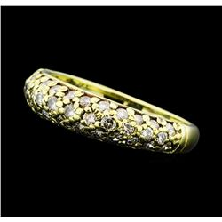 0.80 ctw Diamond Band - 14KT Yellow Gold