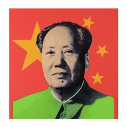 Mao by Steve Kaufman (1960-2010)
