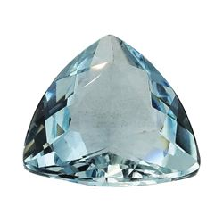 1.84 ct.Natural Trilliant Cut Aquamarine