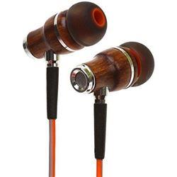 Natural Wood In Ear Headphones