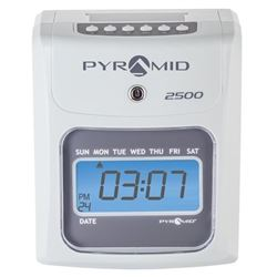 Pyramid 2500 Auto Aligning Time Clock 'Brand NEW'
