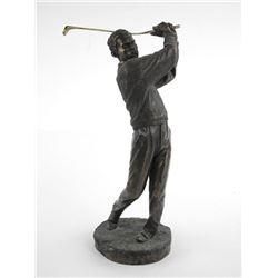 """12"""" Sculpture Golfer"""