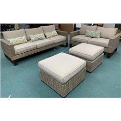 4pc Patio Furniture Set.
