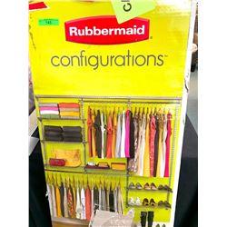 Rubbermaid Portable Closet Organizer 3 to 6'