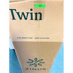 "ZINUS Twin 8"" Gel Memory Foam 'NEW' Green Tea Mattress"