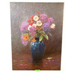 """Thomas Kinkade Canvas 'FLORAL' - Gallery Wrap 18x24"""""""