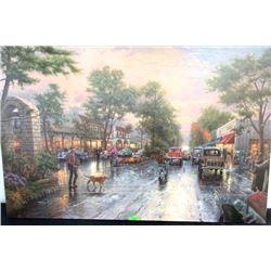 """Thomas Kinkade Canvas - Gallery Wrap. 28x42"""" (MER)"""