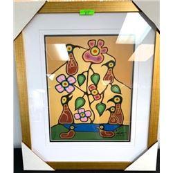 "Christian Morrisseau (1969-) Fine Art Litho LE 41/45 Artist Proof. Signed 18x22"""