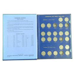Estate Book - Canada Nickel Collection