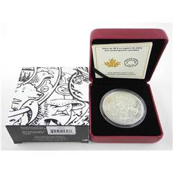 .9999 Fine Silver $30.00 Coin 'Canadian Contemporary Art' LE/C.O.A