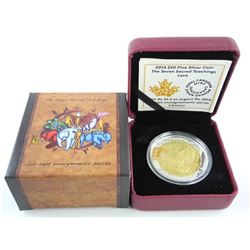 2014 .9999 Fine Silver $20.00 Coin 'LOVE'