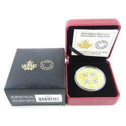 .9999 Fine Silver $20.00 Coin 'Stained Glass - Casa Loma' LE/C.O.A