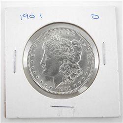 1901 (D) USA Silver Morgan Dollar